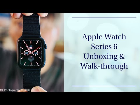 Apple Watch Series 6 Unboxing & Walk-through: The Blue Is Gorgeous!!