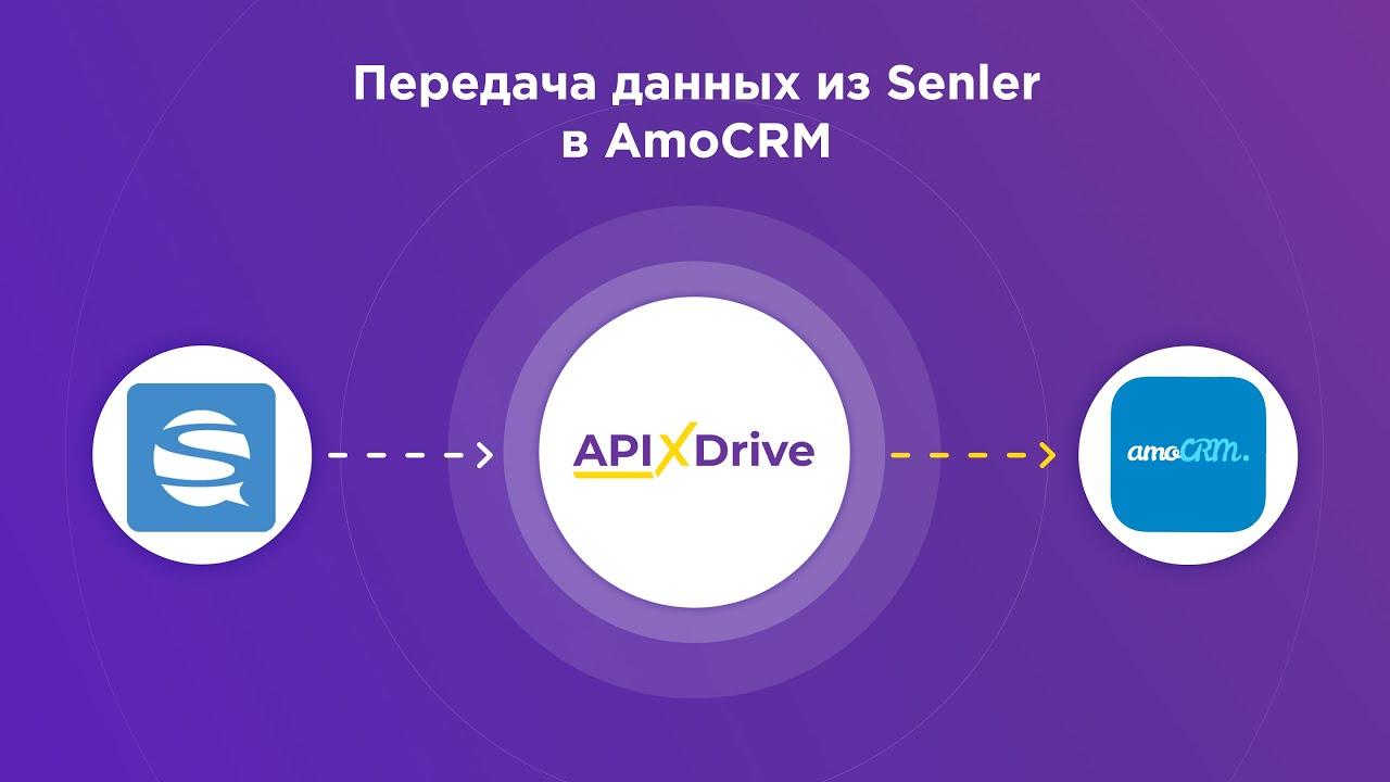 Как настроить выгрузку данных из Senler в виде сделок в AmoCRM?