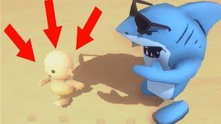 HOW TO KILL AN IMMORTAL DANGEROUS SHARK! (DANGER) (Beachfight.io World Record)