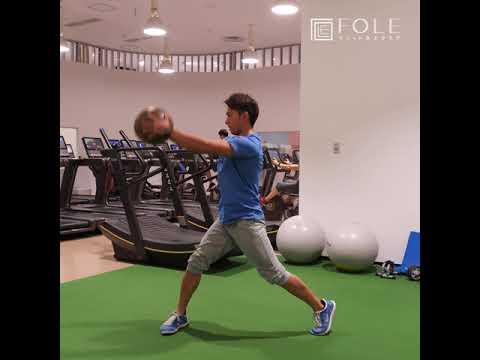 【全身運動に!】メディシンボールを使ったトレーニングのご紹介です!