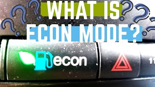 What is Econ mode and what does it do?