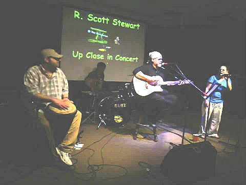 R Scott Stewart-Thanks For Settling Me Down @ The Vineyard Cafe