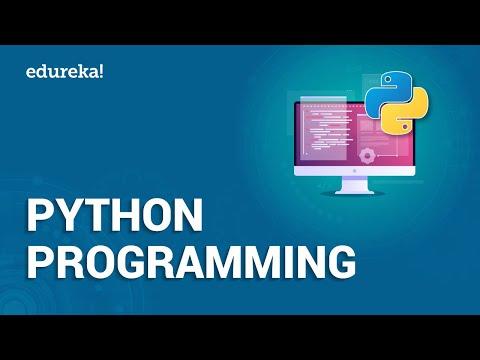 Python Programming | Python Programming For Beginners | Python Tutorial | Edureka