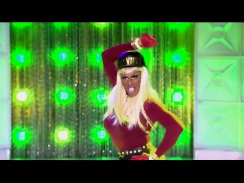 Shea Coulee as Blac Chyna | RuPaul's Drag Race