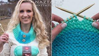 How To KNIT - KNITTING For BEGINNERS By Naztazia