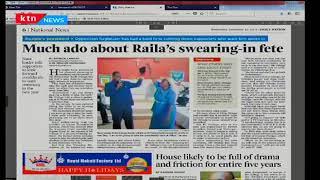 Much ado about Raila's swearing-n fete