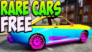 GTA 5 Online - RARE CARS FREE Location - Secret Rare Vehicles (GTA 5 Cars Guide)
