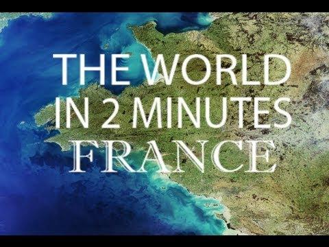 העולם על פי צרפת - 2 דקות של שגעון!