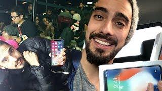 DORMÍ EN LA CALLE para comprar el nuevo IPhoneX