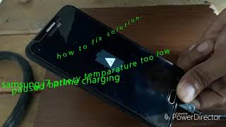 charging paused battery temperature too low j7 prime - Video hài mới