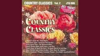Tennessee Flat Top Box (Karaoke Version Instrumental Only)