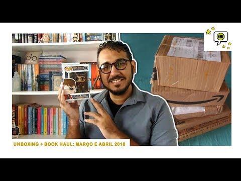 Unboxing + Book Haul: Março e Abril 2018 | Na Minha Estante