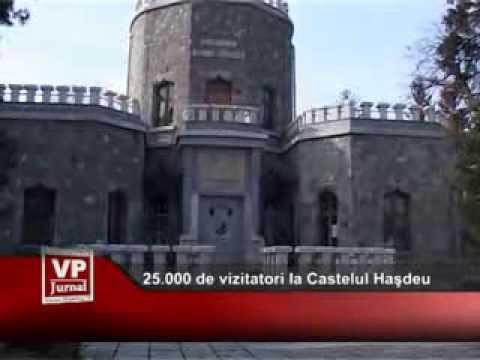25.000 de vizitatori la Castelul Haşdeu