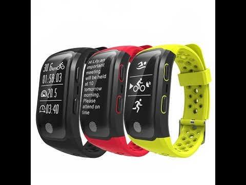 S908 GPS Sports Smartwatch Unboxing and review Activity Tracker Heart Rate Stopwatch Fitnesswatch