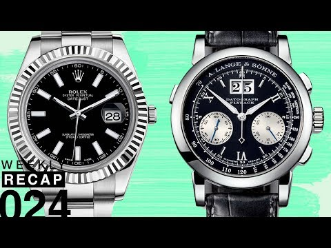 Weekly Recap: Best First Rolex, Breitling vs. TAG Heuer, Watches from the Vault, and Market Analysis
