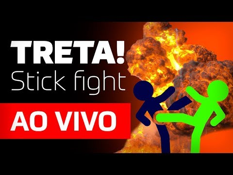 TRETA no Stick Fight com a Cavalaria Geek!