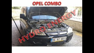 Opel Combo 1.3 dizel hidrojen yakıt sistem montajı
