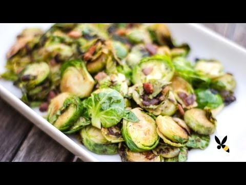 Roasted Brussels Sprouts with Bacon Recipe – Honeysuckle Catering