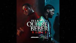 Anuel AA Feat. Romeo Santos   Ella Quiere Beber (Official Remix)  (Audio)
