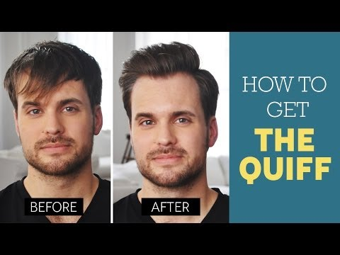 Quiff Hairstyle Tutorial How To Cut And Style A Quiff