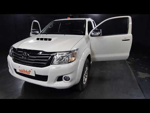 Toyota HILUX Extra Cab 2,5 D-4D 144 4WD Active (MY15), Pakettiauto, Manuaali, Diesel, Neliveto, CJG-258