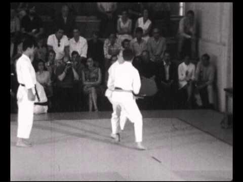 JKA 1967 Miyazaki Shirai Enoeda Kanazawa Kase Belgium Gratz 1967