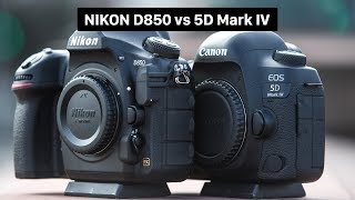 Nikon D850 vs Canon EOS 5D Mark IV   BESTE VOLLFORMATKAMERA   Deutsch