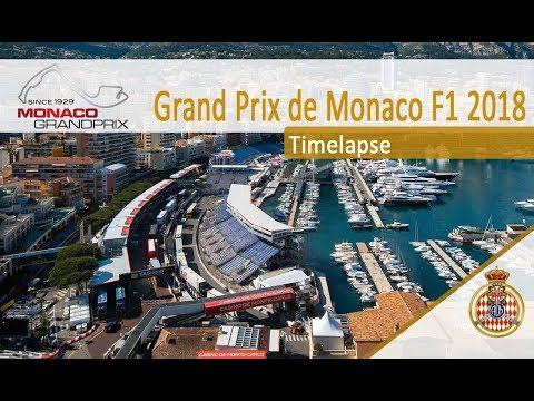 Timelapse Monaco Grand Prix - 7 weeks before the Show
