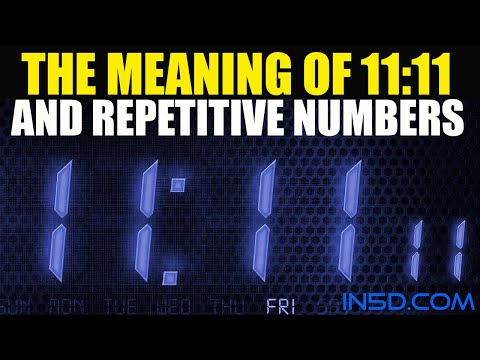 11:11 Meaning – Repetitive Numbers – in5d.com