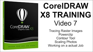 CorelDRAW X8 Tutorial Part 7