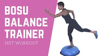 20 Minute BOSU Ball Workout | Fat Burning Tabata Workout