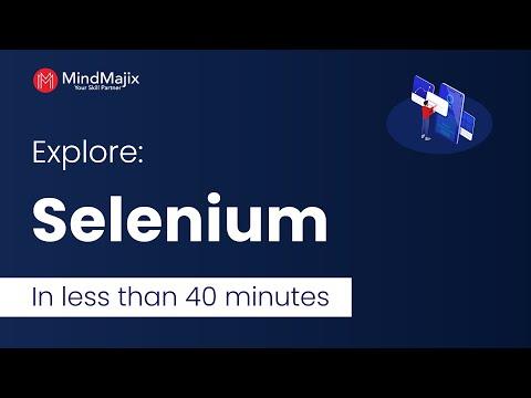 Selenium Tutorial | Explore Selenium in Less than an Hour ...