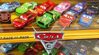 DISNEY PIXAR CARS 3 MOVIE DESERT RACE 11 PACK LEAK NEW DIECAST SMOKEY STORY SET TALKING LIGHTNING
