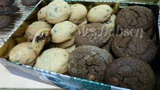 Double Chocolate chip cookies./Resep  kuker