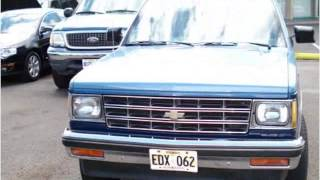 preview picture of video '1984 Chevrolet S10 Blazer Used Cars Pearl City HI'