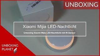 Xiaomi Mijia LED-Nachtlicht mit Infrarot-Sensor - Unboxing Planet