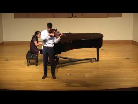 The last movement of the Korngold Violin Concerto from my final undergraduate recital.