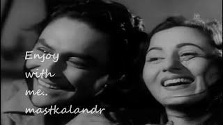 ulajh gaye do naina dekho Ek Saal 1959_Hemant   - YouTube