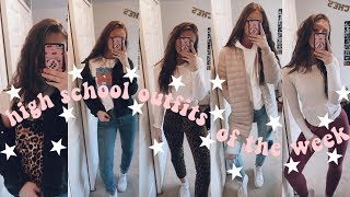 HIGH SCHOOL OUTFIT IDEAS (OOTW)