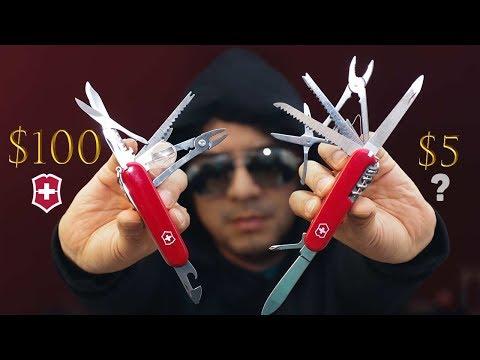 NAVAJA SUIZA DE $100 VS. $5 - LA LEGENDARIA VICTORINOX SWISS CHAMP