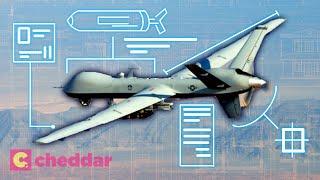 How A Drone Strike Works - Cheddar Explains