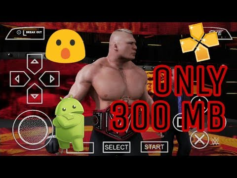 195MB] Download WWE 2K18 Finally For Android PPSSPP | 2K18