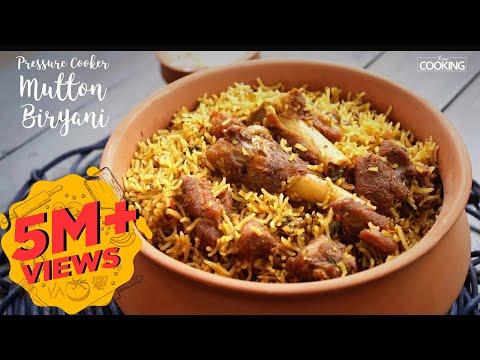 Mutton Biryani | Pressure Cooker Mutton Biryani