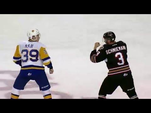 Riley McKay vs Dominic Schmiemann