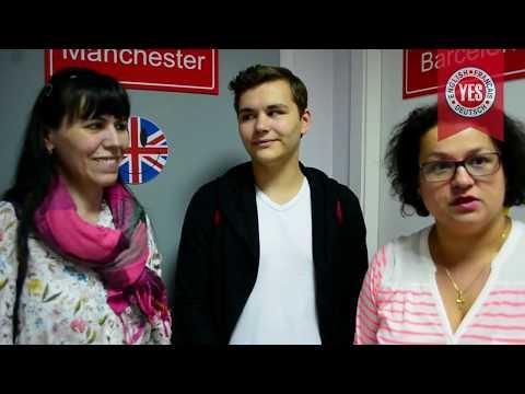 Отзыв о курсах английского языка YES в Пушкино - видео отзыв