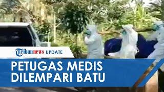 Viral Video Tenaga Medis Dilempari Batu saat Bawa Jenazah Pasien Covid-19: Jangan, Kita Juga Manusia
