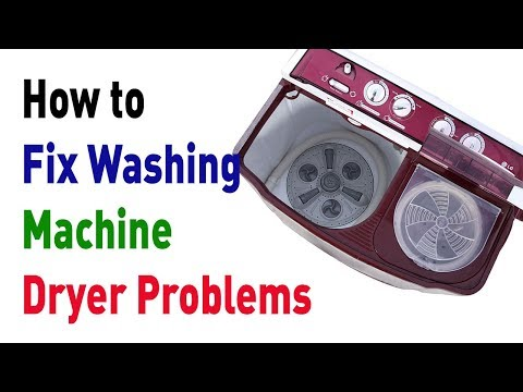 How to Fix Washing Machine Dryer Problems