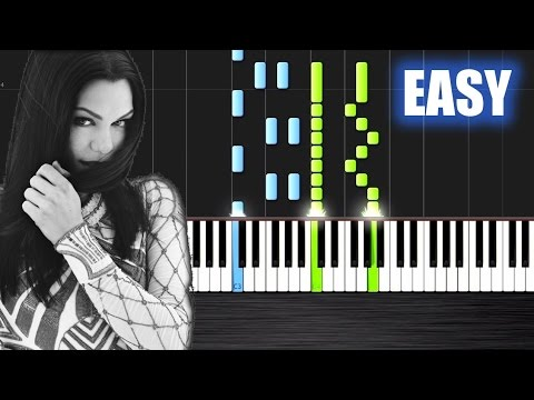 Jessie j   flashlight   easy piano tutorial by plutax   synthesia