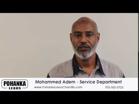 Service Department Mohammed Adem