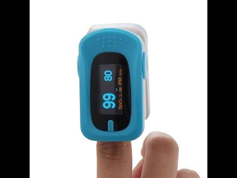 Recens ITA TAPCET pulsossimetro digitale con impostazione allarmi schermo OLED